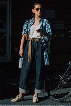 Уличный стиль: фото с Недели моды в Нью-Йорке. Часть 1 | Мода | STREETSTYLE | VOGUE