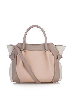Le Marché mini leather shoulder bag | Nina Ricci | MATCHESFASH...