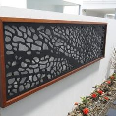 3 Creative Tips Can Change Your Life: Cheap Fence Wire house fence cinder blocks.Wooden Fence On Hill fence wall design.Wooden Fence On Hill. Laser Cut Panels, Metal Panels, Outdoor Screens, Outdoor Walls, Privacy Screens, Decorative Screen Panels, Decorative Metal, Fence Screening, Screening Ideas