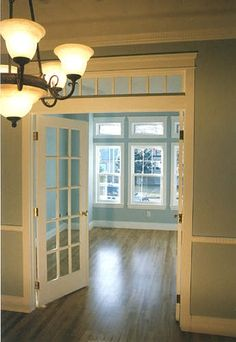 Victorian Style Homes, Craftsman Style Homes, and Arts & Crafts Homes. Craftsman Interior, Craftsman Style Homes, Craftsman Bungalows, Interior Doors, Home Renovation, Home Remodeling, Style At Home, Victorian Style Homes, Bungalow Homes