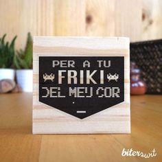 Be friki my friend! #biterswit @biterswit #stamp
