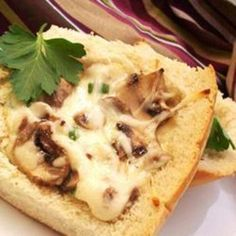 Mushroom Bread. @Peggy Maedke Cherny, we need to try this!