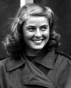 30 years ago, today, Ingrid Bergman passed away from cancer. 97 years ago, today, Ingrid Bergman was born in Sweden.