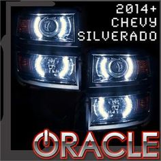 Oracle 2014+ Chevy Silverado ORACLE Halo Kit