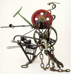 Jean Tinguely - Radio Skulptur Noise in your Eye 1964 Modern Sculpture, Sculpture Art, Jean Tinguely, Imperfection Is Beauty, Kinetic Art, Welding Art, Japanese Prints, Art And Architecture, Great Artists