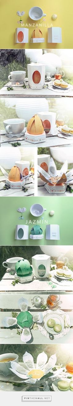 Té Quiero Tea Packaging Design