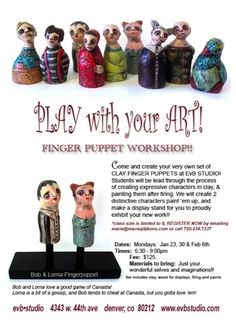 Great idea for those that like to play with clay!
