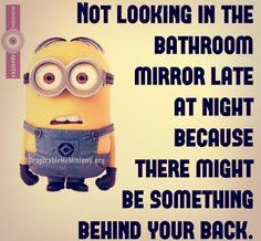 Funny Bathroom Mirror Quotes never forget three types of people | minions | pinterest | persone