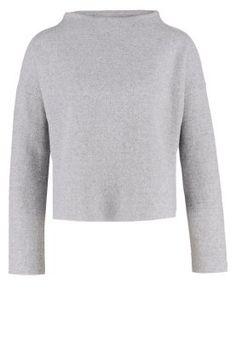 GESINA - Strickpullover - light grey