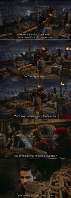 Hook The Jolly Roger #hewastalkingaboutemma