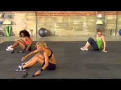 Jackie Warners Xtreme Abs Workout. Because I not so secretly want to be her...