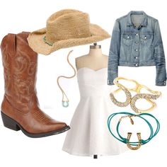 for summer for summer summer clothes waterfalls outfits Cute Cowgirl Outfits, Rodeo Outfits, Country Girls Outfits, Cowgirl Style, Cowgirl Dresses, Cowgirl Fashion, Cowgirl Chic, Western Outfits, Cowgirl Boots