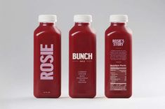 Humanized Packaged Juices : Bunch Juice Company
