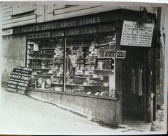 Storefront, Cornwall England ca. 1930s