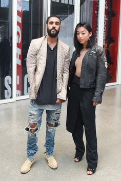 "Designer of ""cult label Fear of God"" Jerry Lorenzo and Margaret Zhang"