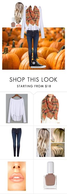 """""""A Day at the Pumpkin Patch"""" by vmerical on Polyvore featuring BP., J Brand, tenoverten and Converse"""