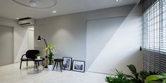 b plus design blog sharing singapore HDB minimalist design - LIGHT BOX