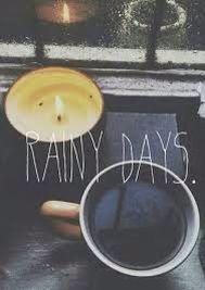 Rainy days and coffee love