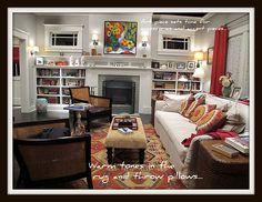 Adam & Kristina's living room #Parenthood