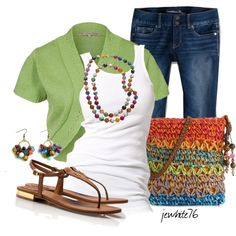 Colorful Spring by jewhite76 on Polyvore
