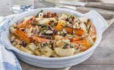 Wer kann bei dieser Gemüsekombination mit feiner Rosmarin- und Knoblauchnote sowie gerösteten Nüssen schon widerstehen?