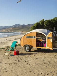 Teardrop trailer love