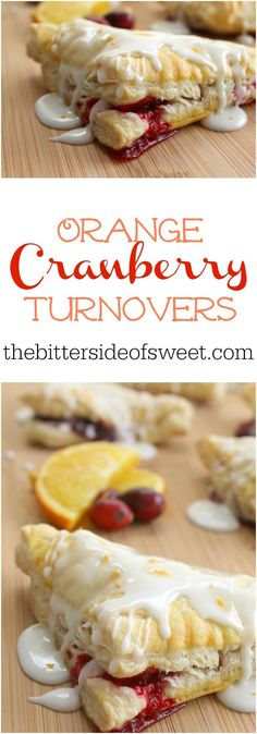 Orange Cranberry Turnovers   The Bitter Side of Sweet #CranberryWeek