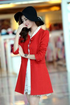 cashmere coat lace or fur collar YRB0128