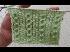 Şişle yapılan Halkalı Tren Yolu Örgü Modeli yapılışı ile Yelekler için güzel ve çok yakışan Özellikle Anne Yelekleri için önereceğim Türkçe açıklamalı Örgü Knitting Stiches, Knitting Videos, Crochet Stitches Patterns, Knitting Charts, Easy Knitting, Baby Knitting Patterns, Loom Knitting, Crochet Designs, Stitch Patterns