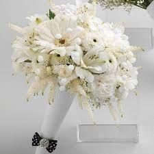 Image result for white prom nosegay