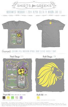 Mom's Day | Mason Jars | Theta Alpha | #tshirtideas #momsday | shirtsforgreeks.com