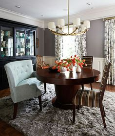 dining room of bob house from the marchapril issue of traditional home