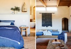 Inside The Dreamiest Spanish Inspired Home in Byron Bay. — The Beach People Journal Byron Bay Beach, Conversation Pit, The Beach People, Australian Architecture, Floor Finishes, Rustic Elegance, Open Plan, White Walls, Repurposed