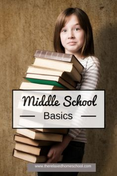 Middle school basics! What your middle school child should focus on.