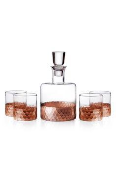 American Atelier 'Daphne' Decanter & Whiskey Glasses (Set of 5)