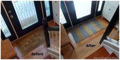 Trashtastic Tuesday – How I Painted a Sisal Rug