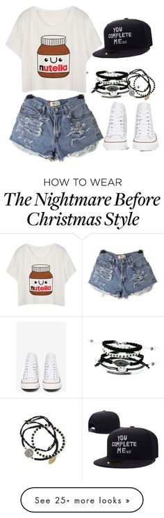 """""""Untitled #75"""" by supergiirl on Polyvore featuring Converse and Feather & Stone"""