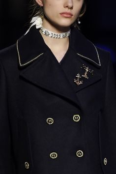 welcome in the world of fashion Sailor Dress, Black White Fashion, Fall 2016, World Of Fashion, Timeless Fashion, Tommy Hilfiger, Suits, Coat, Jackets
