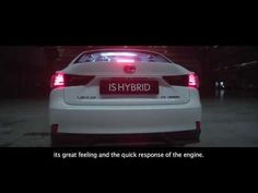 New Lexus IS Hybrid | TRACE YOUR ROAD | Behind the scenes - YouTube
