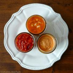 Trois sauces pour une fondue chinoise