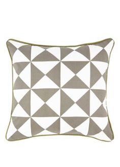 Ferm Living Geometry sierkussen 50 x 50 cm