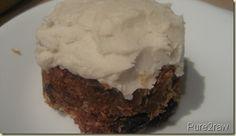 Pure2Raw Recipe: Carrot Cake Recipe using carrot pulp