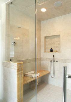 dramatic bathroom by nancy leffler mikulich on