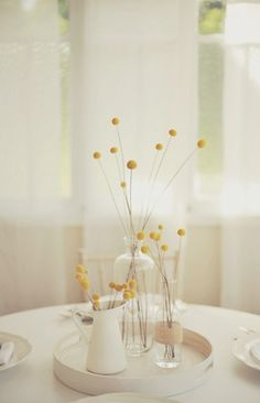 Subtle yellow tones are a great way to compement our Brazilian Blue bridesmaids dresses