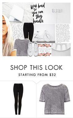 """""""too vogue for you"""" by stylistdirectioner ❤ liked on Polyvore featuring Topshop and NIKE"""