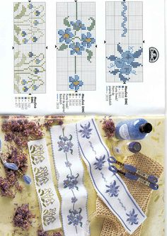 This Pin was discovered by Hür Cross Stitch Bookmarks, Mini Cross Stitch, Cross Stitch Borders, Cross Stitch Rose, Cross Stitch Flowers, Cross Stitch Designs, Cross Stitching, Cross Stitch Embroidery, Cross Stitch Patterns