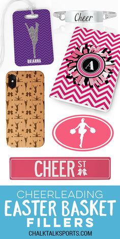 Find the best Easter Basket fillers for your special cheerleader this Easter! Cheerleading Gifts, Easter Gift Baskets, Gift Ideas, Fun, Funny, Hilarious, Gift Tags