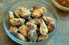 Crispy Tahong (Deep-Fried Mussels)