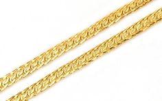Retiazka dámska v 14 karátovom žltom zlate Friendship Bracelets, Earrings, Jewelry, Fashion, Ear Rings, Moda, Stud Earrings, Jewlery, Jewerly