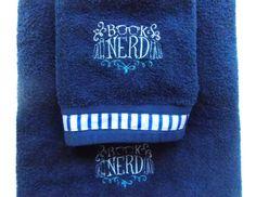 Book Nerd Towel set